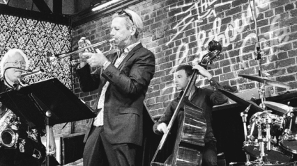 Mitch Manker, trumpet, Igor Kogan, bass – © Nish